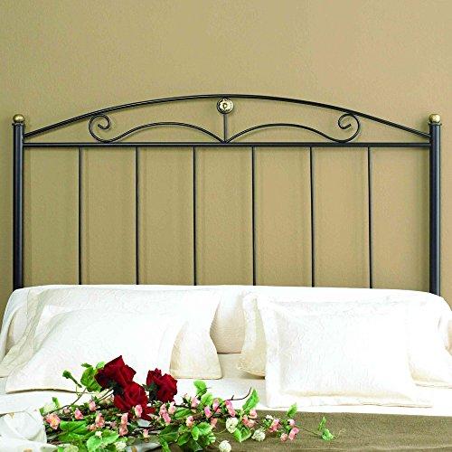 Cabecero de cama 135 forja blanco