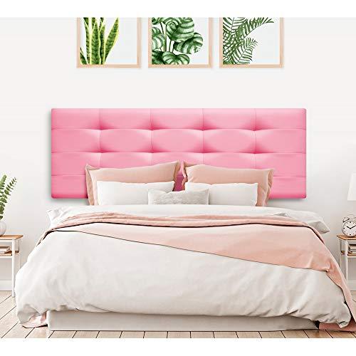 Cabecero polipiel rosa