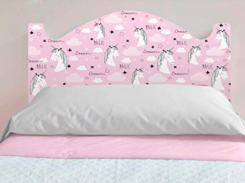 Cabecero de cama niña